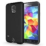 Diztronic Matte Back Black Flexible TPU Case [Rev. 2] for Samsung Galaxy S5, Retail Packaging