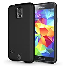 Diztronic Matte Back Black Flexible TPU Case [Rev. 2] for Samsung Galaxy S5, Retail Packaging