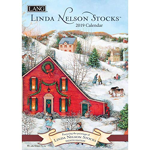 The LANG Companies Linda Nelson Stocks 2019 Monthly Planner (19991012100) (Best Stocks Under 50 Dollars 2019)