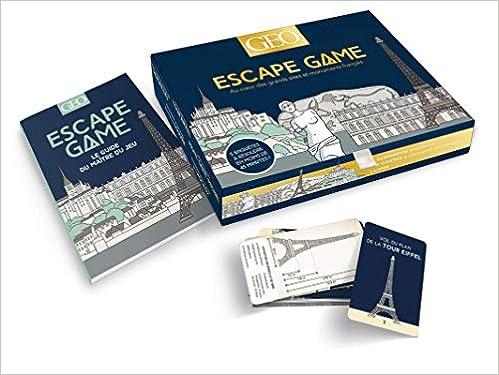 Amazon Fr Boite Escape Game Geo Patrimoine Collectif