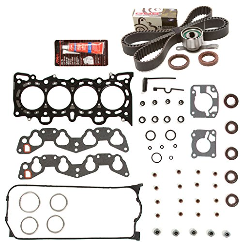 Evergreen HSTBK4028-2 Head Gasket Set Timing Belt Kit Fits 92-95 Honda Civic VTEC 1.6 SOHC D16Z6