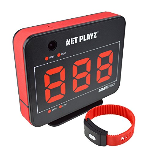 Net Playz Smart Pro Speed Vision (Sports Radar Video Recorder Camera, Built-in (Sports Radar)