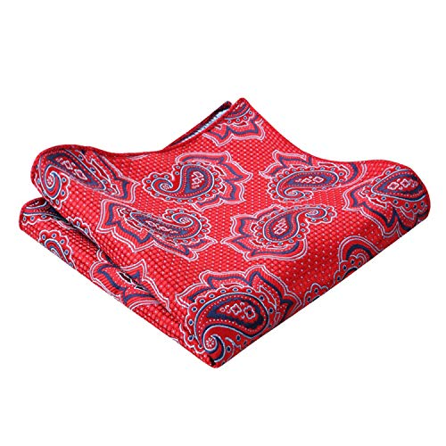 Lot Rouge Alizeal Manchette Pochette De cravate Boutons Homme Vineux Rxq6wO5q7