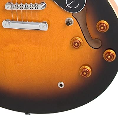 Epiphone DOT ES Style Semi-Hollowbody Electric Guitar, Vintage Sunburst from Epiphone