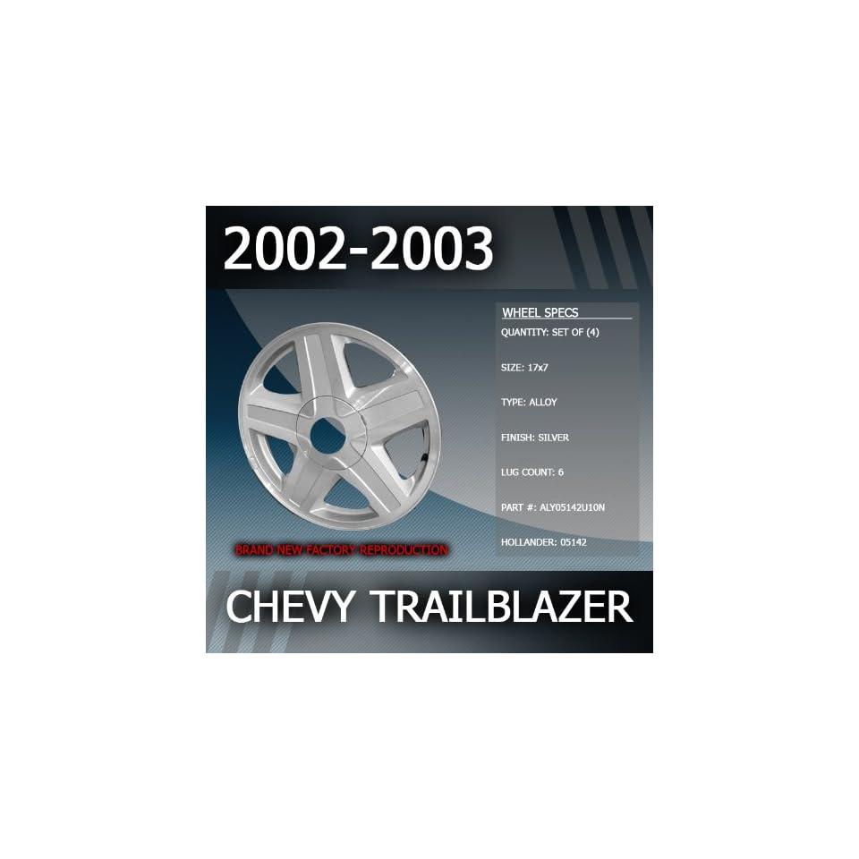 2002 2003 Chevy Trailblazer Factory 17 Wheels Set of 4