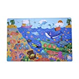 MiDeer Secret Ocean Puzzle Games Cardboard Puzzle with an Adventure Glasses for Kids