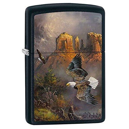 Zippo Blaylock Painting Sedona Serenade Eagles Lighter Custom Made