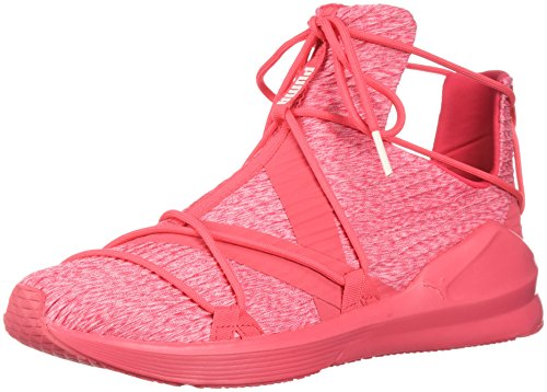 PUMA Women's Fierce Rope Pleats Wn Sneaker, Paradise Pink-Paradise Pink, 7 M US