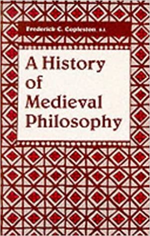 Book A History Of Medieval Philosophy by Frederick C. Copleston (1990-01-30)