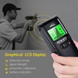 Stud Finder Wall Scanner - 3 in 1 Electric Multi Function Wall Detector Finders with Digital LCD Display, Center Finding Stud Sensor & Sound Warning for Studs/Wood/Metal/Live A