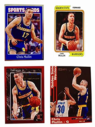 c50055531ce4 Amazon.com  (4) Chris Mullin Odd-Ball Trading Card Lot  Collectibles ...