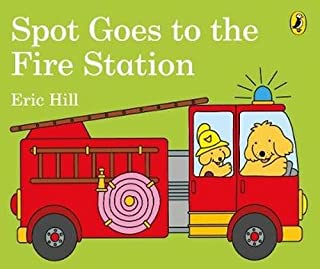 Book Cover: Spot Goes to the Fire Station