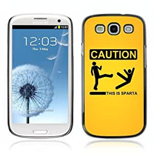 YOYOSHOP [Funny This Is Sparta] Samsung Galaxy S3 Case