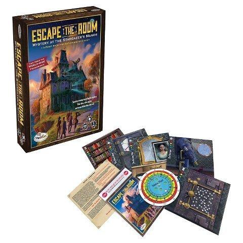New Escape the Room Stargazer's Manor (Escape The Room Stargazers Manor Board Game)