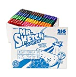 Mr. Sketch Scented Stix Markers, Fine Tip, Assorted Colors, 216-Count