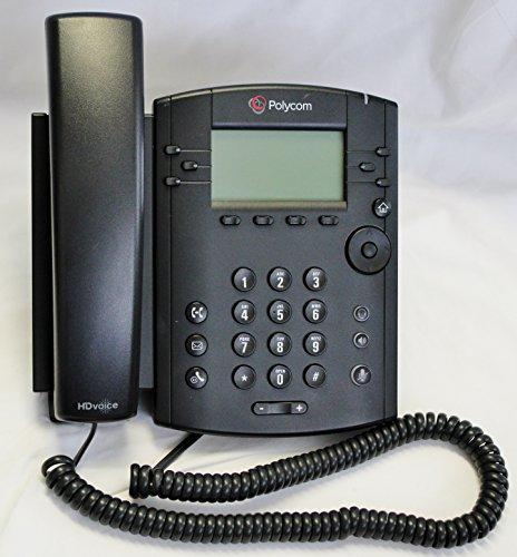 01 VVX 300 VoIP 6-Line Business Desktop Phone ()