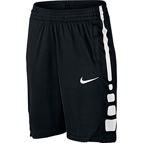 NIKE Boy's Dry Basketball Short Black/White Size X-Large