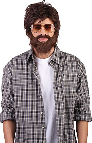 Men's (Alan Hangover Wig)
