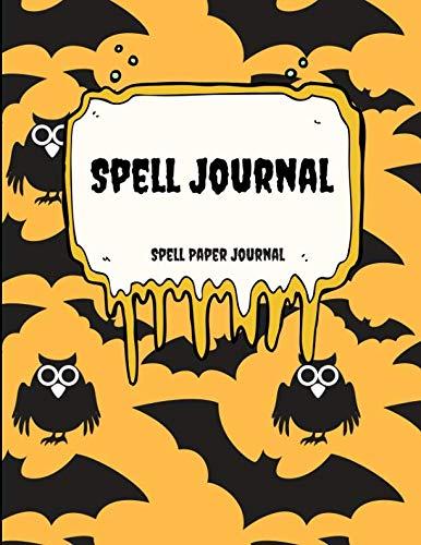 Spell Journal: Blank Spell book for Kids -