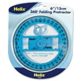 Helix 6 inch 360 Degree Folding Protractor (12081) Deal (Small Image)