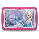 Kids Tablet PC, 7 HD Eyes-Protection Screen Android 7.1 1GB RAM 8GB ROM Tablet for Kids with WIFI Google Play Games & Learning Software Pre-Installed Childrens Best Gift Set (pink)