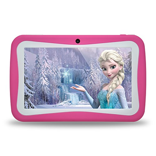Kids Tablet PC, 7'' HD Eyes-Protection Screen Android 7.1 1GB RAM 8GB ROM Tablet for Kids with WIFI Google Play Games & Learning Software Pre-Installed Children's Best Gift Set (pink) by HONGYIYUAN