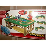 Fisher-Price GeoTrax Train Table and RC Set