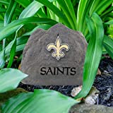NFL New Orleans Saints Team Logo Faux Rock Lawn
