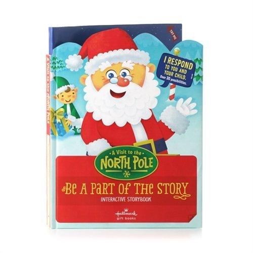 Hallmark Interactive Storybook A Visit to the North Pole XKT1070 (Interactive Notepad)