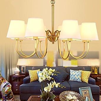 Wohnzimmer Beleuchtung Kronleuchter Bronze Lampen Kronleuchter Kronleuchter  Dorf Minimalistischen Schlafzimmer 8 72 Cm Durchmesser Der Kronleuchter