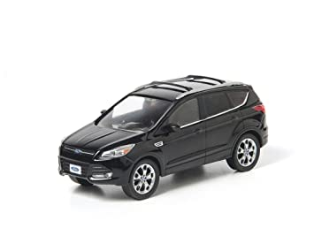 2013 Ford Escape Tuxedo Black With Case 1 43 Diecast Car Model Limited Edition