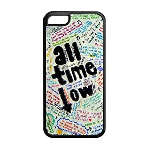 All Time Low Super Fit iPhone 5c Cases Solid Rubber Customized Cover Case for iPhone 5c 5c-linda833