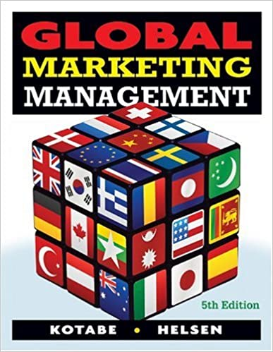 Global marketing management masaaki mike kotabe kristiaan helsen global marketing management 5th edition fandeluxe Gallery