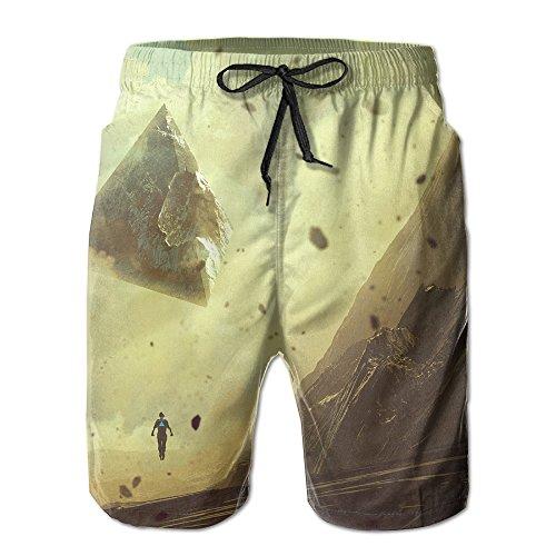 Sand Storm Nice Male Swim Trunks 8.82oz Easy To Clean