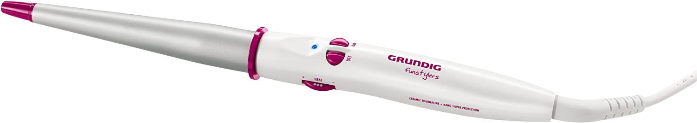 Grundig HS 6130 Funstylers, Kegelförmiger Lockenstab, weiß-silber-pink weiß-silber-pink Grundig Intermedia GmbH GML8710 60525096