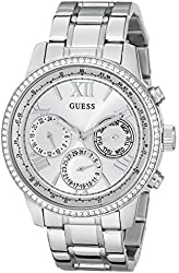 GUESS Women's U0559L1 Stainless Steel Multi-Function Watch