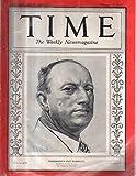 Time Magazine 1933 February 27 Mississippi s Pat Harrison