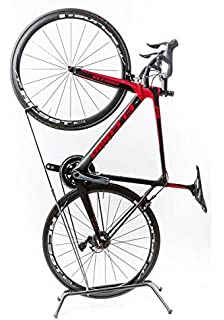 Vertical Marco de mantenimiento de trabajo de reparación de bicicletas Soporte Soporte para aparcamiento de bicicletas