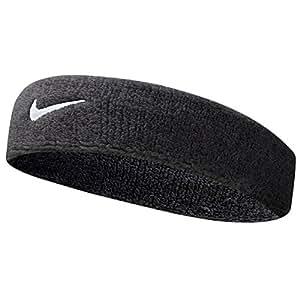 Nike Swoosh Headband, Mens, Nike Headband, N.NN.07.010.OS, Black, One Size