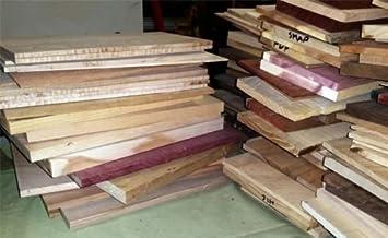Box Full of Scrap Thin Boards Shorter Lengths