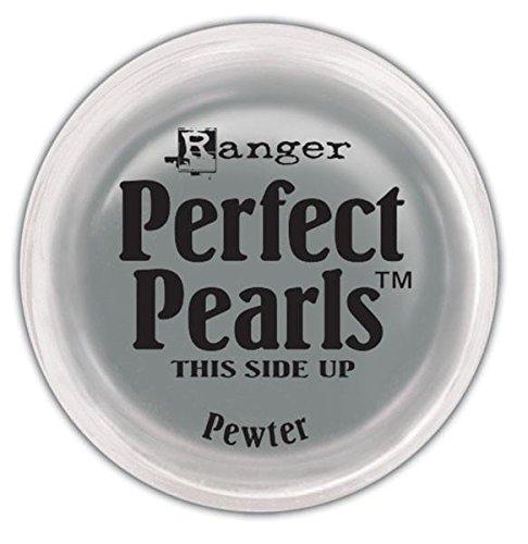 Ranger Perfect Pearls Pigment Powder 0.25oz - Pewter R a n g e r