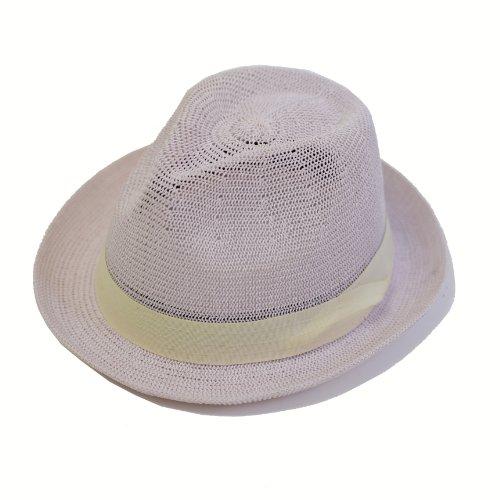 (エッジシティー) EdgeCity 麦わら帽子 大きいサイズ 涼しく風が抜ける 000299
