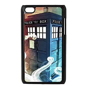 C-EUR Customized Phone Case Of Doctor Who TARDIS Police Call Box For Ipod Touch 4 hjbrhga1544
