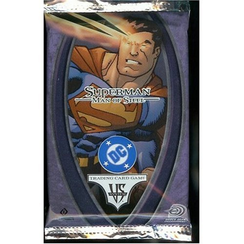 DC VS System Trading Card Game Superman Man of Steel Booster Pack 14 Cards