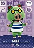 amiibo card 74 Conn from Animal Crossing Series 1 Card set