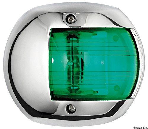 Osculati 11.407.02 - Classic 12 Navigationslicht AISI 316/112,5° grün