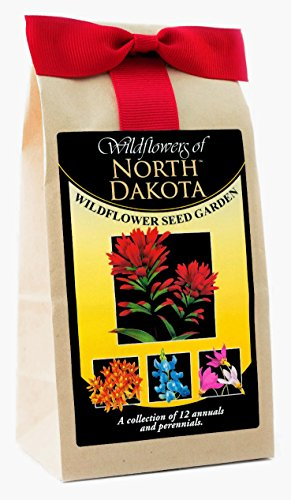 (North Dakota Wildflowers - Seed Mix - a Beautiful Collection of Twelve annuals & perennials - Enjoy The Natural Beauty of North Dakota Flowers in Your own Home Garden)
