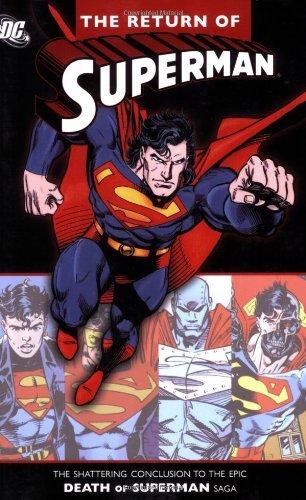 (The Return of Superman Signed by Artists Edition by Dan Jurgens, Karl Kesel, Roger Stern, Louise Simonson, Gerar (1993))