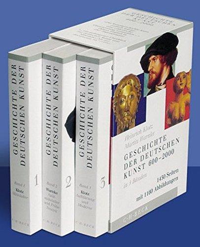 Geschichte der deutschen Kunst 600 - 2000, (in 3 Bänden)
