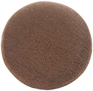 Tempo Furniture Replacement Barstool Cushions Char Brown Fabric, 100 Polyester